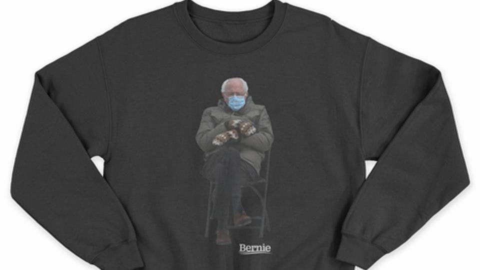 Here's why the Bernie Sanders meme sweatshirt is this season's best fashion statement and staple:  by @TanyaKlich