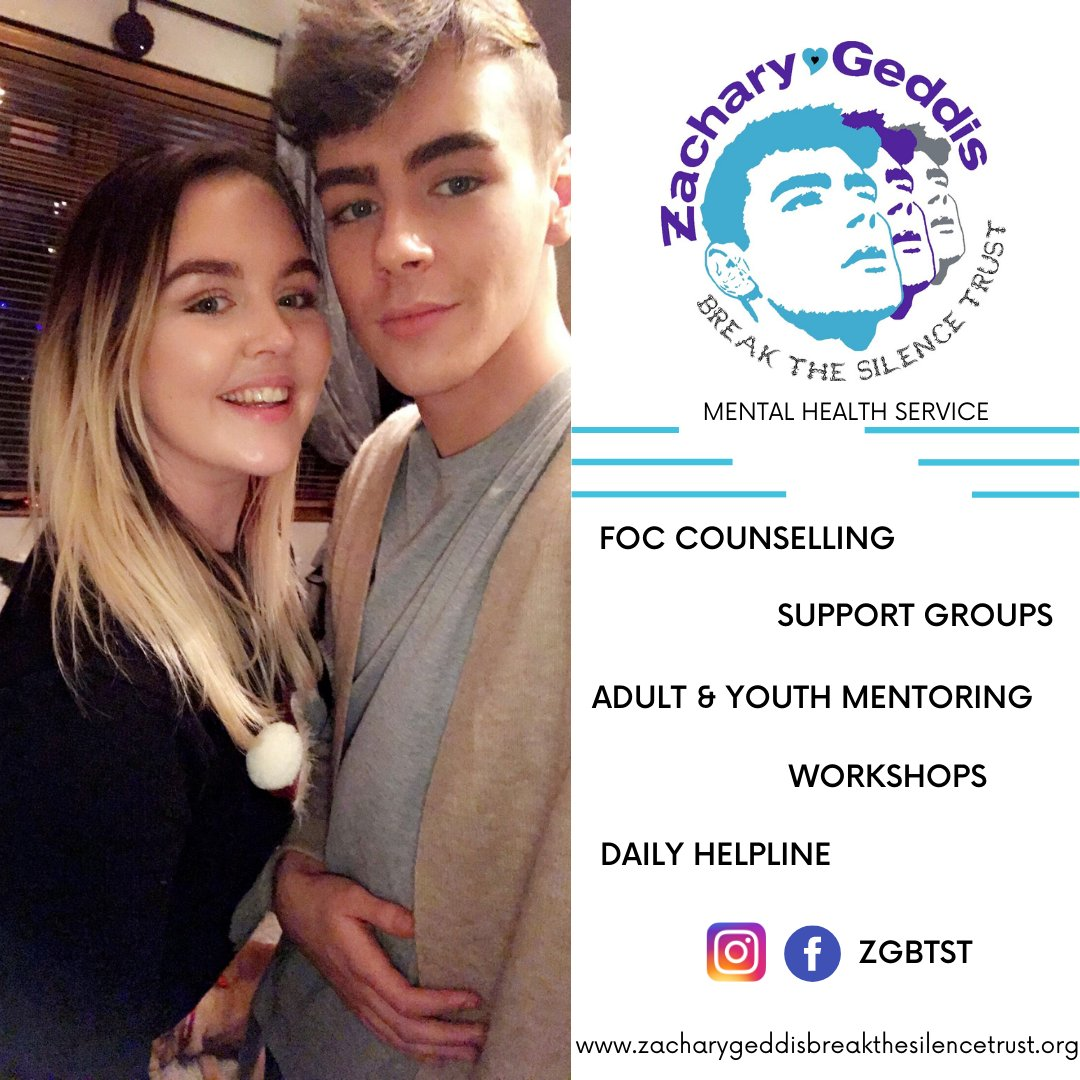 "⭐ Today's #MemberInFocus is Yasmin Geddis - Zachary Geddis Break the Silence Trust #ZGBTST 👉   Services need to be explained… many people state, ""there are not enough #mentalhealth services"" without knowing how they work, where they are and what they do."