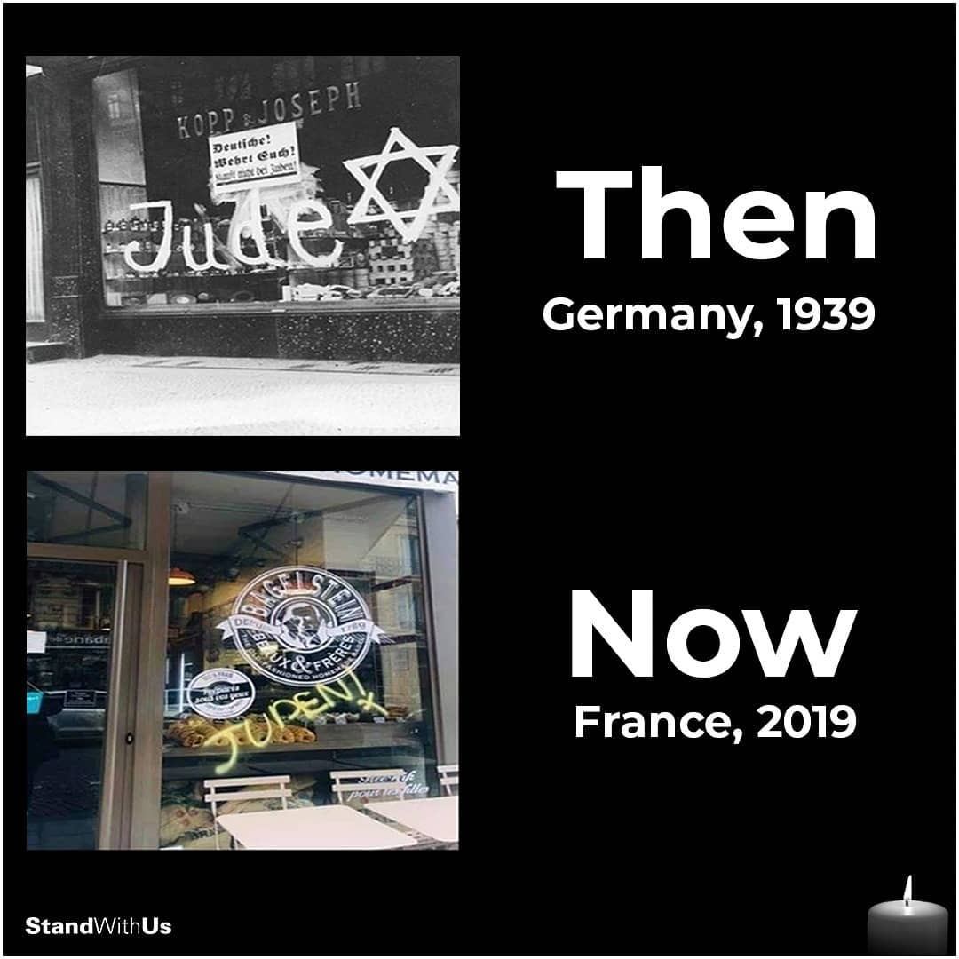 Then vs. Now. Has the world learned nothing? Today on International Holocaust Remembrance Day we must speak out and send a clear message against antisemitism. In the face of darkness, be the light.   #HolocaustRemembranceDay  #HolocaustMemorialDay