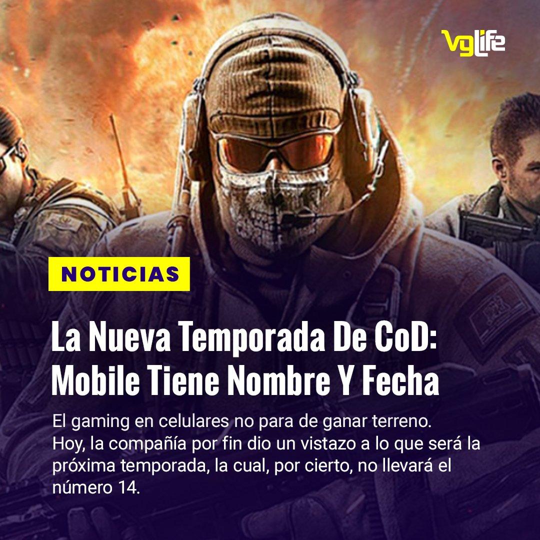 """#NoticiasVGL """"La Nueva Temporada De CoD: Mobile Tiene Nombre Y Fecha""""  Noticia completa en nuestro sitio web   #Blizzard #CallOfDuty #Activision #CODMobile  #Mobile #Videojuegos"""