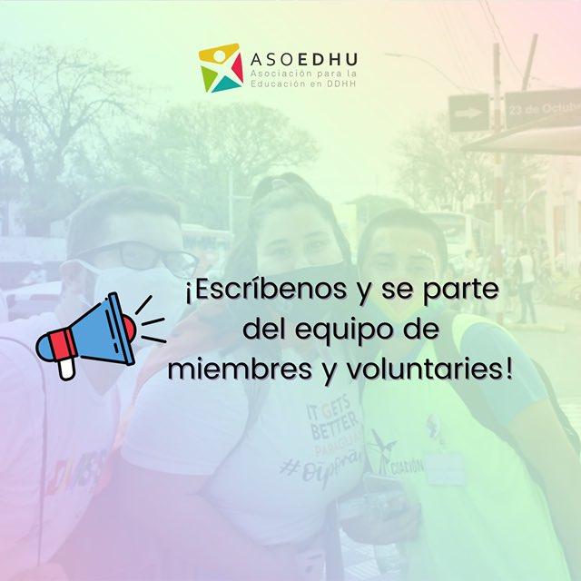 📢 Te invitamos a conocer más sobre Asoedhu en el fleet, estamos para promover políticas públicas que logren la libertad, igualdad y justicia para las personas #LGBTIQ+ #OrgulloSiempre