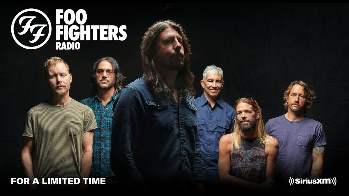 Just announced... Foo Fighters Radio is coming to @SIRIUSXM for a limited time!!! 🤘 More details available here: