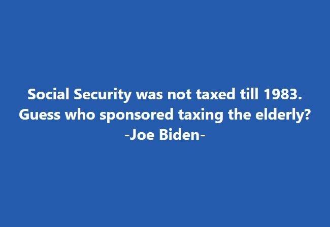 Biden fact # 17