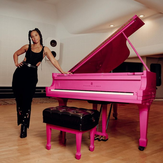 Happy 40th Birthday to the one & only Alicia Keys