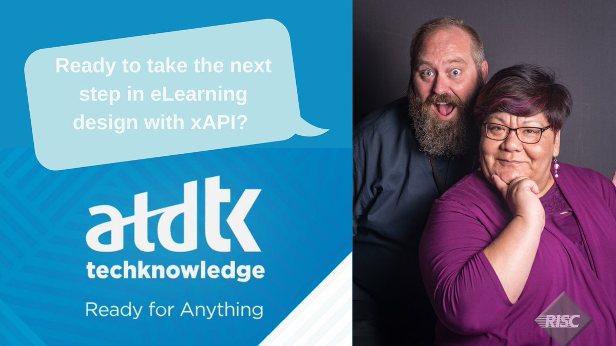 It's the first day of #ATDTK! Are y'all excited??? Join @cre8iveii and @DuncanWIV TODAY 3-5pm ET for a hands-on session on incorporating #xAPI in  your #elearning design!  #instructionaldesign https://t.co/rRb0R3dRaz