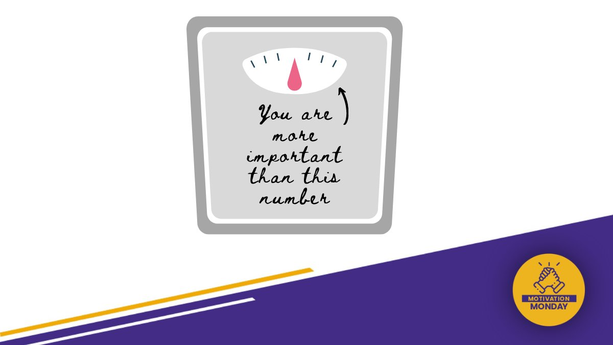Happy Monday Golden Hawks! As the new year brings in new goals, keep this in mind: weight and health are not the same thing (and this is scientifically proven!) Focus less on the numbers and more on your overall health 💛   #motivationmoday #bodypositivity #soarabove