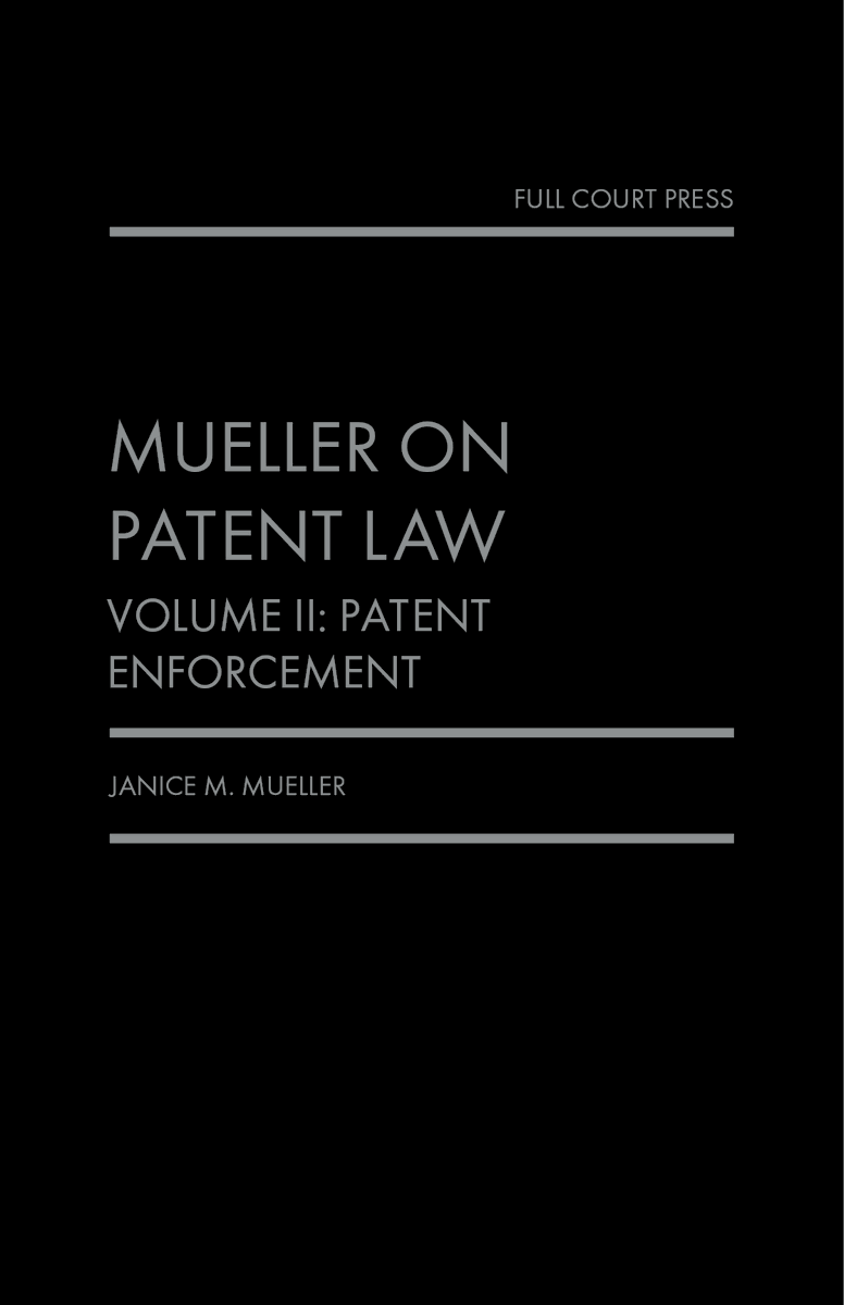 test Twitter Media - Now available in hard copy and digital formats from @Fastcase, Mueller on Patent Law is a comprehensive yet accessible two-volume legal treatise for patent practitioners. For ordering information, see https://t.co/BEAYfmdNy5. https://t.co/qx0KAyyssX