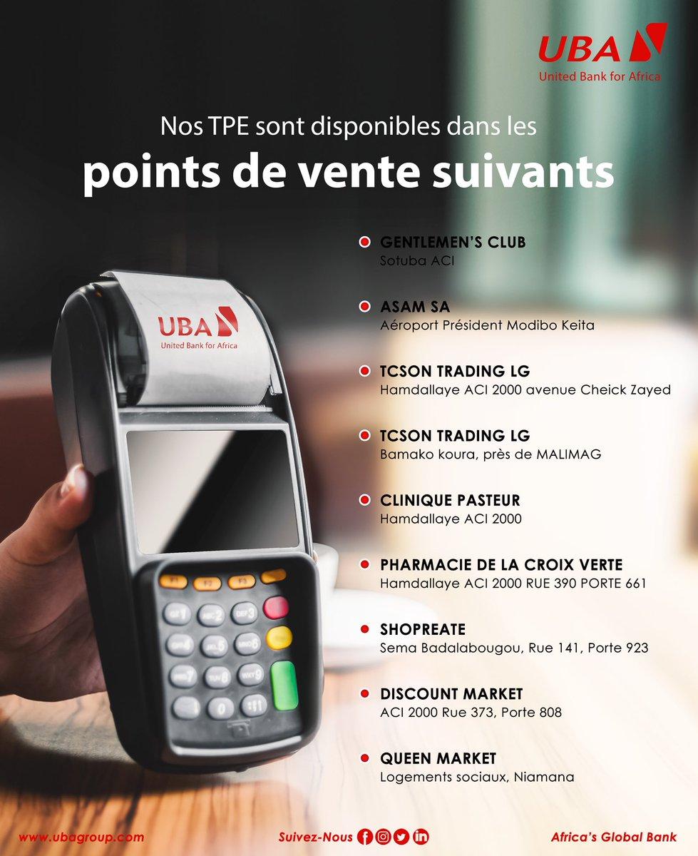 Alors, plutôt #TeamCash 💰 ou #TeamCarte 💳 ?   Pour vous faciliter la vie , nous avons mis des terminaux de paiement électroniques à votre disposition dans les points suivants 👇🏾  #BankWithUs #TakeLifeEasy  #AfricasGlobalBank #YourDigitalBank