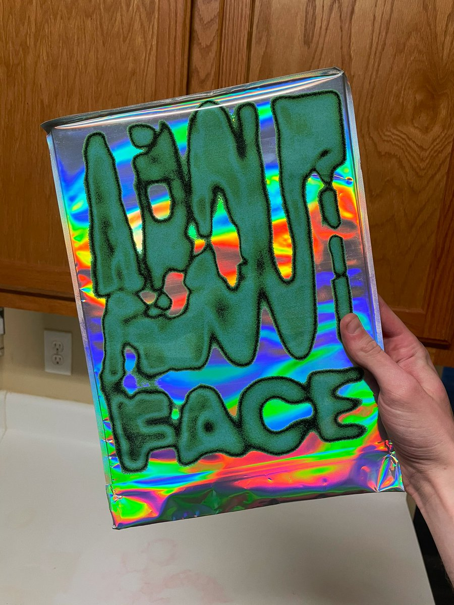 GIVEAWAY!  since a lot of people can't afford about-face or merch right now, i got an extra about-face zine mailed to me and i want to give it to a better home 🥺  it's unopened with samples inside!  RULES -follow -RT  -comment your favorite halsey look :)  Ends Feb 1!! 🖤