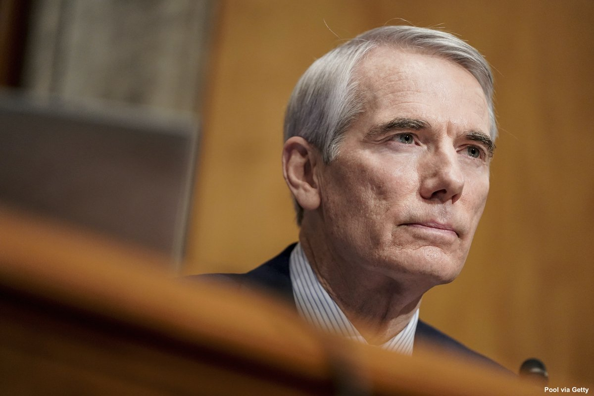 NEW: GOP Sen. Rob Portman of Ohio says he won't seek reelection and plans to end a career in federal government spanning more than three decades.