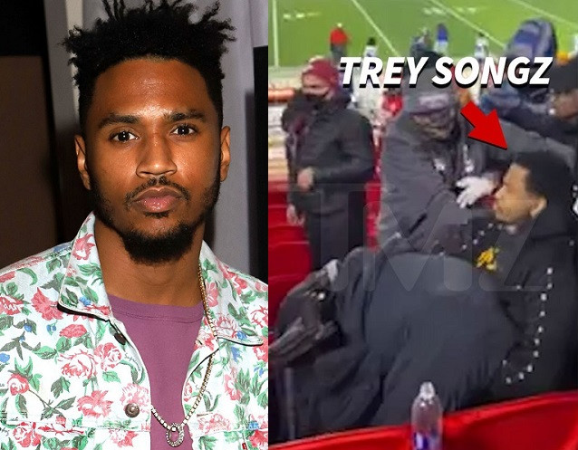 Trey Songz arrested for trespassing, resisting arrest, and assaulting a police officer during Kansas City Chiefs game (video),https://t.co/vSYWJJ5jC1 #TreySongz https://t.co/te3hXHE08l