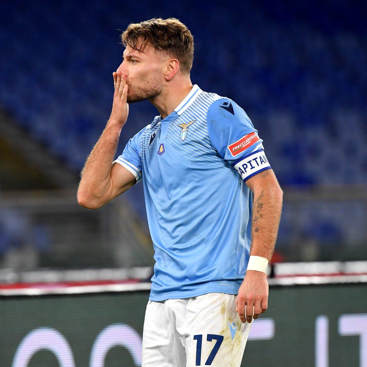 🦅 Ciro Immobile has scored 18 goals in 21 games for Lazio this season 🔥  #UCL
