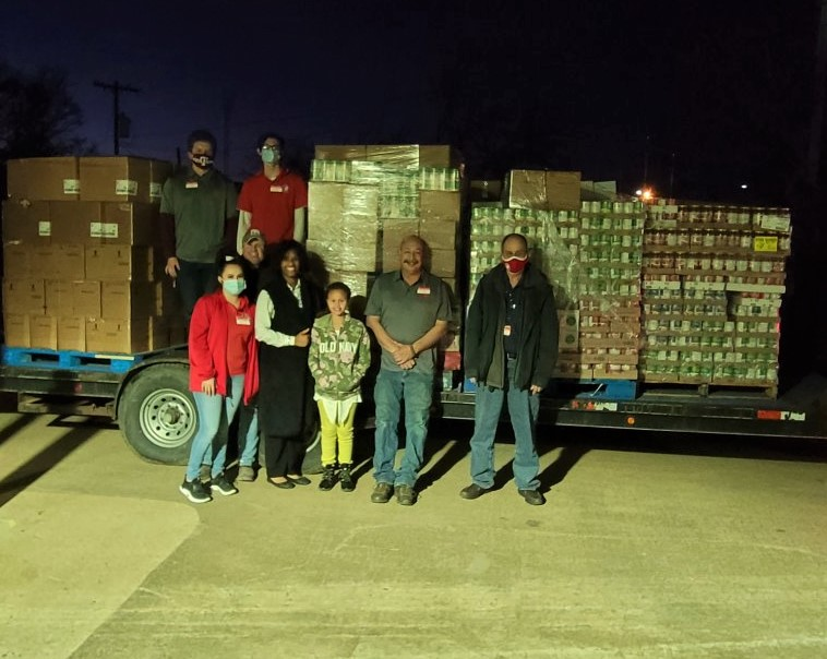 Thanks to the generosity of our customers in Fairfield, TX, Brookshire Brothers was able to donate eight pallets of groceries to the River of Life Food Pantry. 😍 🍽 #BrookshireBrothers #GoodNeverGoesOutOfStyle #Fairfield