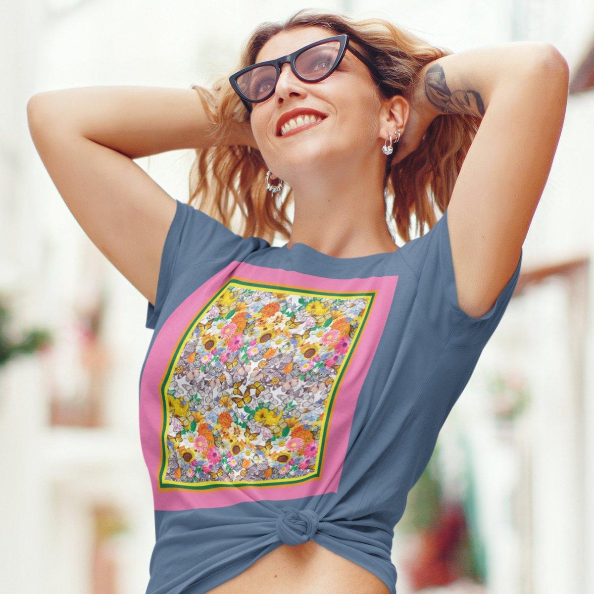 65 MCMLXV Women's Butterflies & Flowers Graphic T-Shirt  #65mcmlxv #shopifypicks #etsyseller #etsystore #instastyle #instafashion #tshirt #tshirtdesign #tshirts #moda #shirt #tees #tshirtstore #modafeminina #tshirtshop #teeshirt #tshirtslovers #tshirtprint #flowers #butterflies