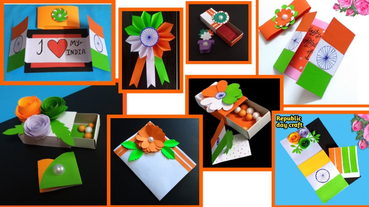 Republic Day Special 9 DIY Easy Best Out Of Waste Craft Idea Here's Link :   #Republic #RepublicDayIndia #RepublicDay2021 #RepublicDay #republic