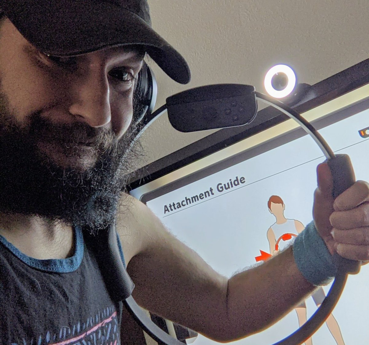 Live right now on this #MotivationMonday with #RingFitAdventure! Let's get some gains! Join me at  -  -  as I continue on my #weightloss journey! #twitch #twitchaffiliate #NintendoSwitch #workout #health #fitness #MondayMotivation #fatloss #mondaythoughts