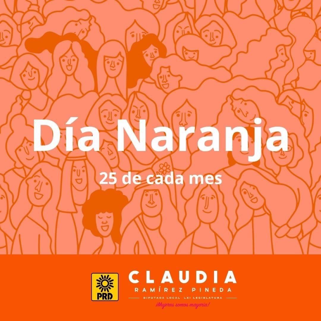En el marco del día internacional de la eliminación de la violencia contra la mujer tenemos que seguir impulsando acciones para crear una sociedad libre y segura para todas las mujeres.  #DíaNaranja #NiunaMenos #PintaelmundodeNaranja