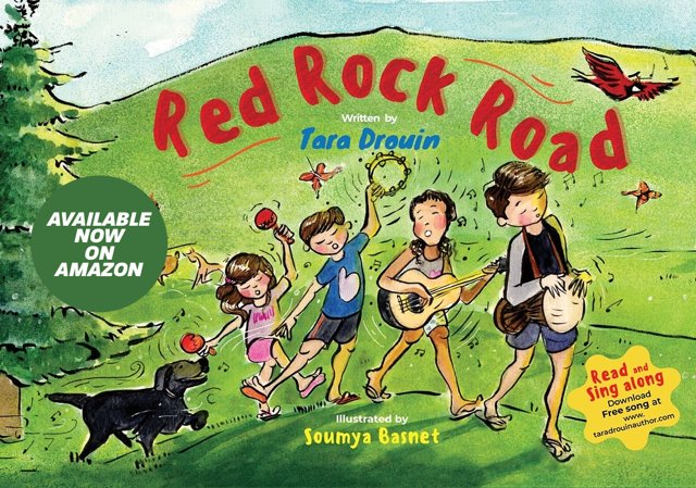 My new book is now available on Amazon Kindle. #KindleUnlimited #childrensbooks #family #catskillmountains #education #musicandart #redrockroad #nature
