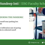 Image for the Tweet beginning: Dr. Sundeep Inti of @ISUSciTech,