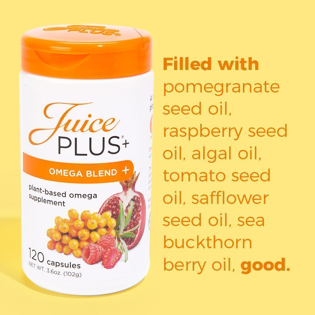 Here are 3 reasons take 🧡Juice Plus Omega capsules🧡 100% #vegan✔️ Combination of omega 3, 5, 6, 7 & 9 fatty acids✔️ Contains no GMOs, #gluten, dyes or preservatives✔️ Buy 👉  #selfcare #healthyliving #MondayMotivation #mondaythoughts #MondayMorning