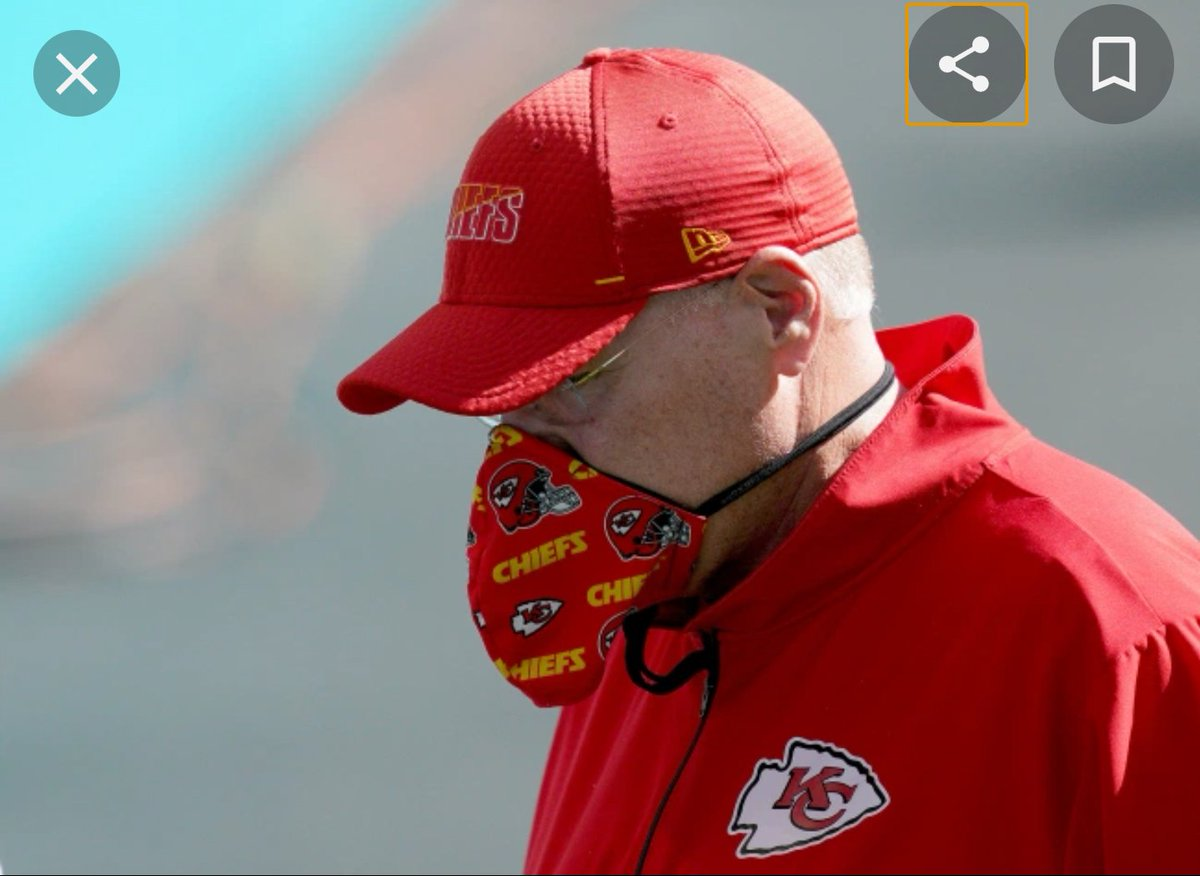 @PatMcAfeeShow #PatIDontWantToOverreactBUT  I think Andy Reid is using a banana hammock as a mask!