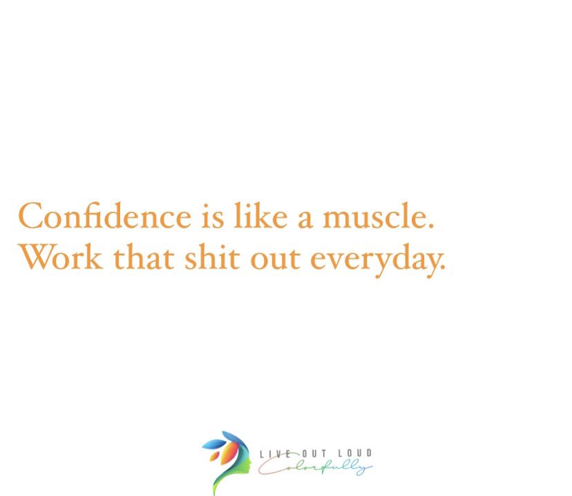 Every damn day. #liveoutloudcolorfully  #confidence #workitout #lifecoach #everyday #mindset #growth #build #strength #positivethoughts #believe #youvegotthis #dothework #positvevibes #positiveenergy #nevergiveup #goals #gotgetit #workout #workouteveryday