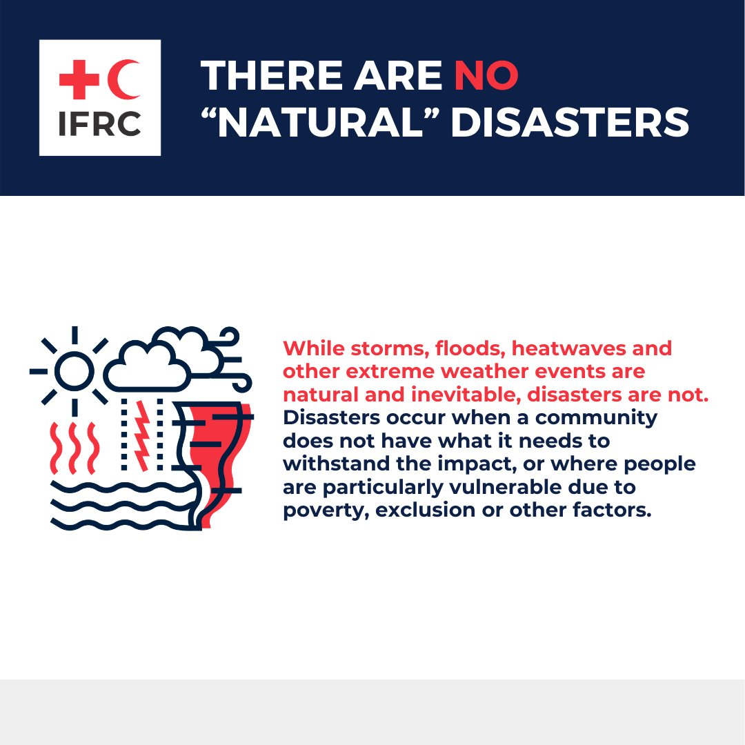 IFRC helps communities adapt to a changing climate. Every year, small and medium sized disasters occur in silence – leaving communities around the world struggling to access the financial support they need to adapt and recover. 👉  #AdaptationSummit