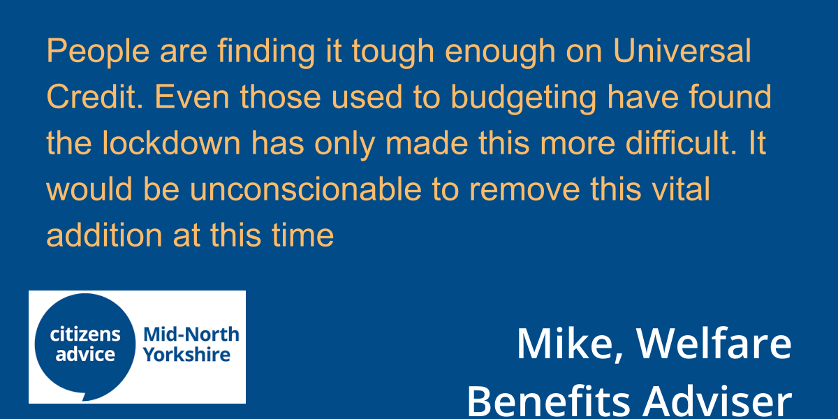 #KeepTheLifeline of the £20 uplift to #UniversalCredit and #TaxCredits #MondayMotivation