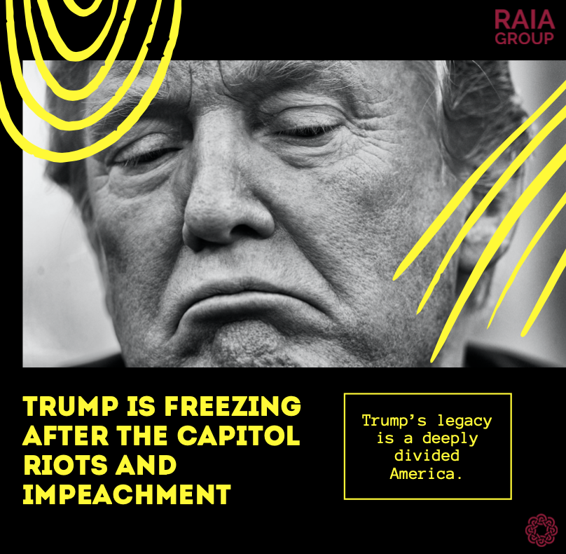 Trump has come under fire for inciting an insurrection. He has been criticised for spreading conspiracy theories despite the major loss of support.  Find out more in our blog:   #Trump #UnitedStates