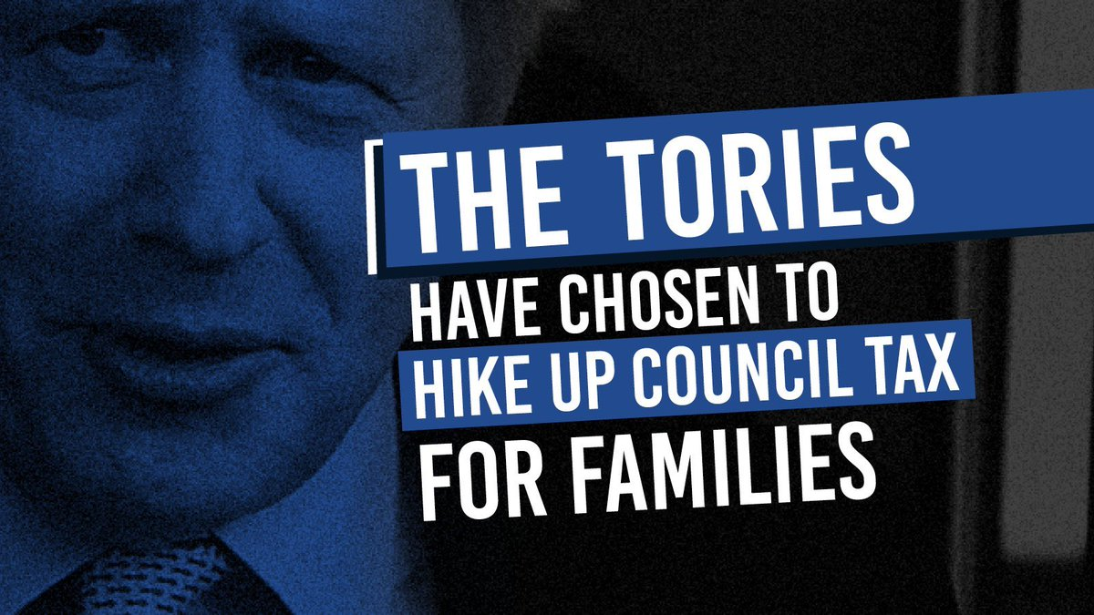 BREAKING NEWS: 🌹Labour voted to protect families from the Tories council tax hike. 👎 The Conservatives didn't even show up.