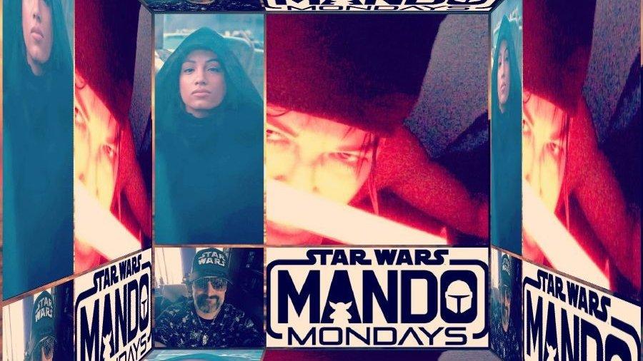 #MandoMondays #ThisIsTheWay Y'all #Happy #Selfie #StarWarsFan #StarWarsFamily #StarWarsLover #KoskaReeves  #SashaBanks #SashaKrew #LegitBoss #MichelleRodrguez #mrodfamily #mrodlover #StarWars4Life #Loyal 😊😍💙💜