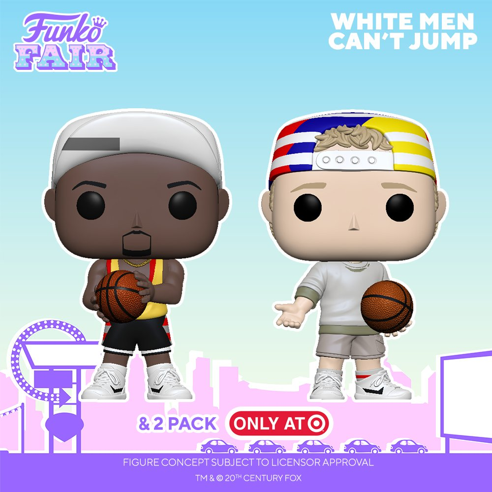 Funko Fair 2021: White Men Can't Jump 🏀(The Pop! 2-pack is a Target Exclusive). Pre-order Billy  and Sidney :  now! #FunkoFair #Funko #FunkoPop