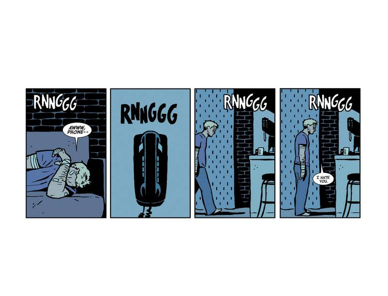 What's a comic book moment that lives in your head rent free? #Hawkeye #marvelcomics