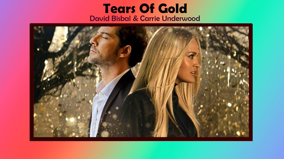 Replying to @Las50DeJoelitu: #32 Tears Of Gold 🥇 @davidbisbal  & @carrieunderwood  (+5) Máximo 32 semana 3