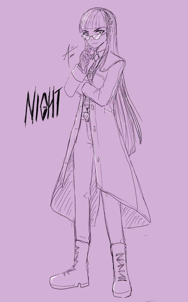 @kanikanizawa My name is Night! I'm the world's greatest evil mastermind! I'm going to control this world through the hypnotic power of VTubing! ♥️😈  #vtuber #vtuberen #VTuberUprising