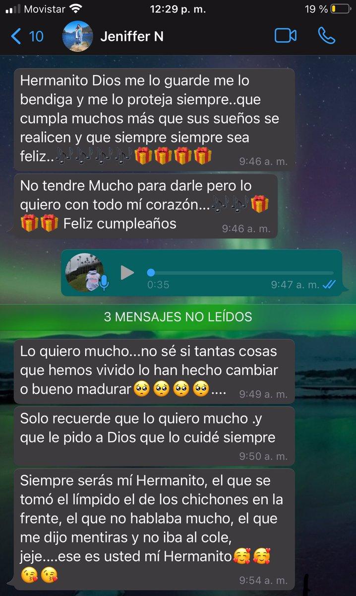 Mi hermana me da el feliz cumpleaños y cómo siempre con sus anécdotas jajaja #HAPPYBIRTHDAY #Colombia #Brothers #humor #felizcumple