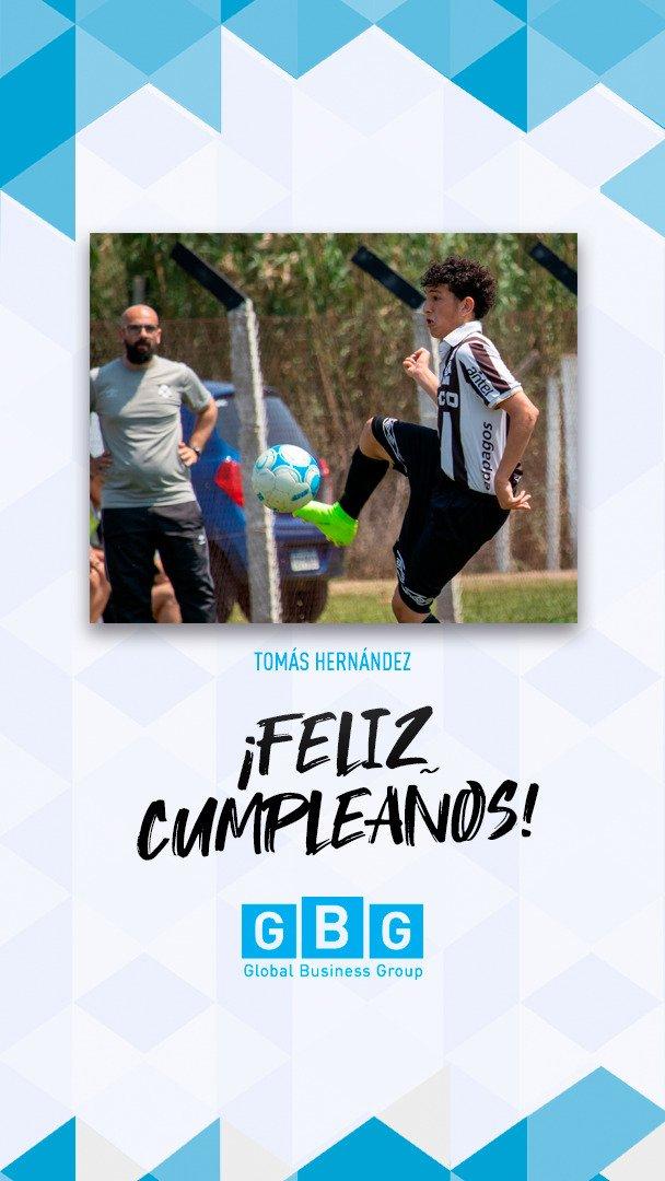 """🥳#Felizcumple #15 """"Tomate"""" !!! Te deseamos lo mejor y que disfrutes mucho en tu día! 🎁🎈#GBGplayer #Wanderers #Cumpleaños @mwfc_oficial"""