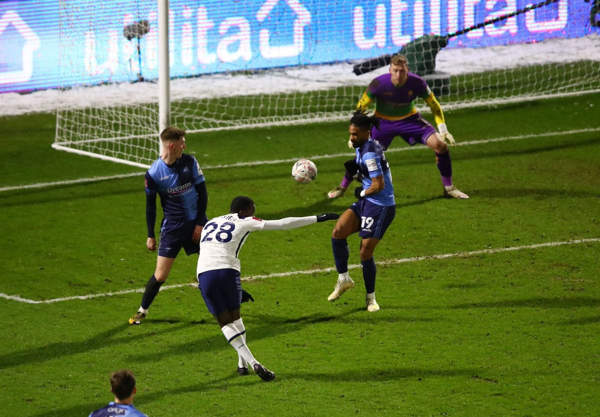 Tanguy Ndombele 🇫🇷 is the first Tottenham player to score at least twice in a match as a substitute since May 2011. [Opta] #THFC #COYS