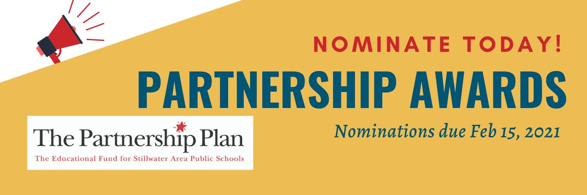 Don't forget to nominate those teachers and staff who are going above and beyond this year.  >>>  #partnershipawards #outstandingteachers #amazingstaff