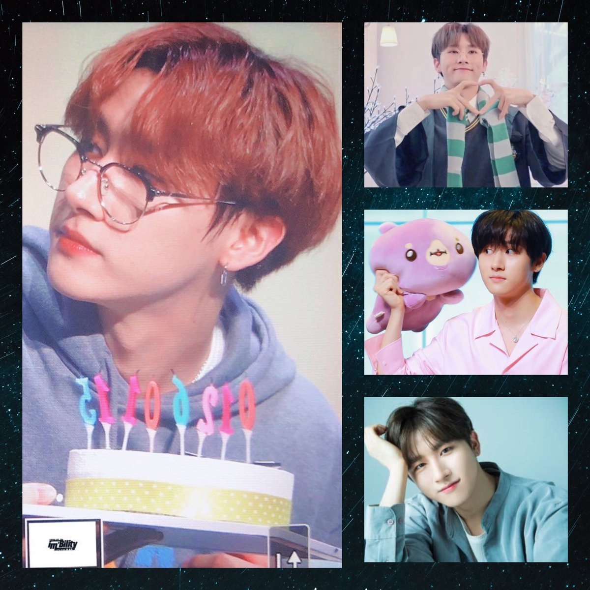 @MONBEBEnt @OfficialMonstaX Happy birthday 🎉  #HBDtoIM @OfficialMonstaX  #올겨울_IM으로_충분해 #IMYourNightView