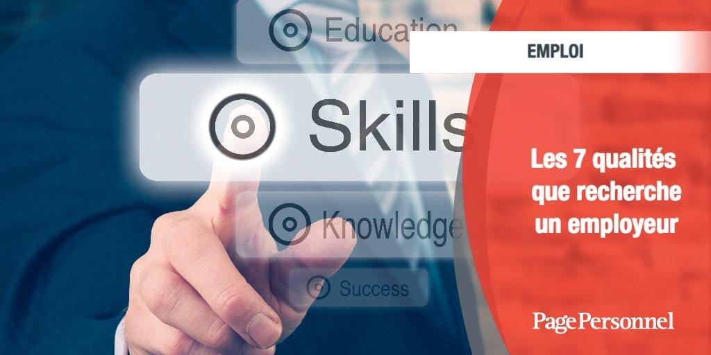 [#Emploi] Nous possédons tous des qualités… et des défauts. Dans le cadre d'un entretien de #recrutement mieux vaut, à l'évidence, faire valoir ses qualités. Mais lesquelles ? 👉  - #MondayMotivation #softskills