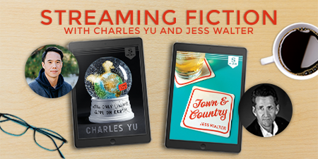 Tomorrow #NBAwards Winner @charles_yu is in conversation with @1JessWalter, moderated by @AmyGracieL hosted by @cwclub