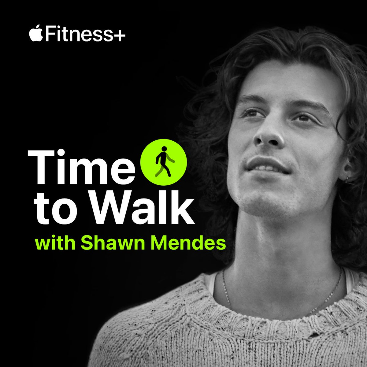 Shawn's episode of Time to Walk, a new audio walking experience, is available now in the Workout app on Apple Watch with a Fitness+ subscription! #TimeToWalk #CloseYourRings@ShawnMendes