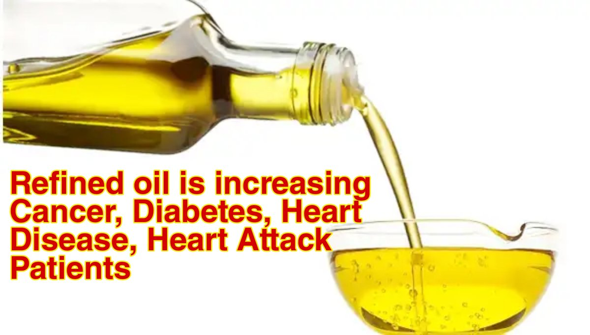 #RefindOil is harmful for #healthylifestyle, brands are playing with your #Health & you're buying those.   Refined oil is increasing #Cancer #Diabetes #HeartAttack  Some Brands of Refined Oil(so called oil)    #FortuneOil #Saffola #SunflowerOil #NatureFresh #dharavi #SundropOil