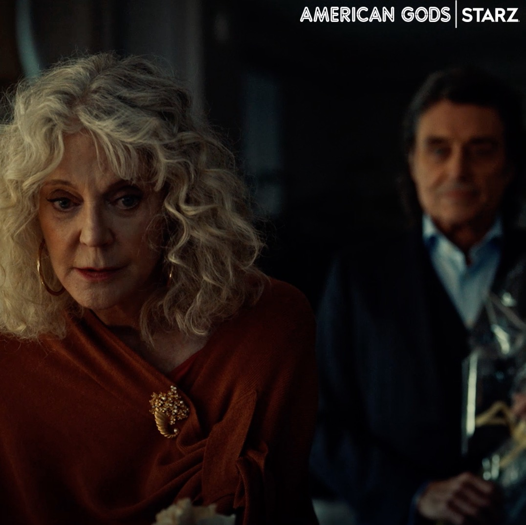 Iconic is an understatement. See what I mean in the latest episode of #AmericanGods streaming now on the @STARZ App.