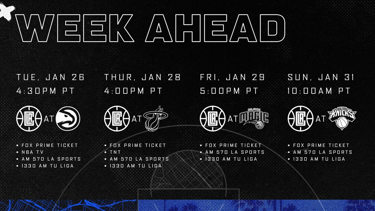 Six games. Ten days.  We're heading out on the road. https://t.co/SJWFiN11ZR