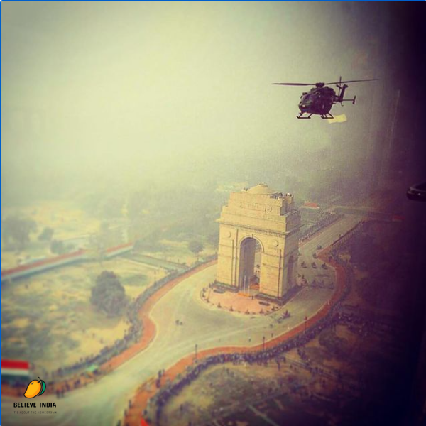 Republic Day honours the date on which the Constitution of India came into effect on 26 January 1950.  #believeindia #india #republic #constitution #January #parade #flypast #indiagate #delhi #helicopter #democracy
