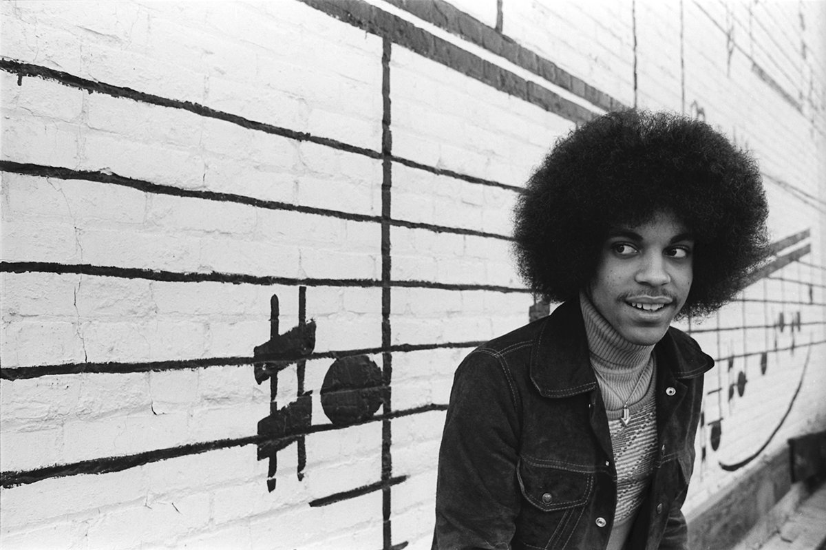 Prince and photographer Robert Whitman met in 1977 to create images together to promote Prince's debut album, For You. In what has become an iconic series, one of their photo sessions happened in front of Schmitt Music Co. in downtown Minneapolis.