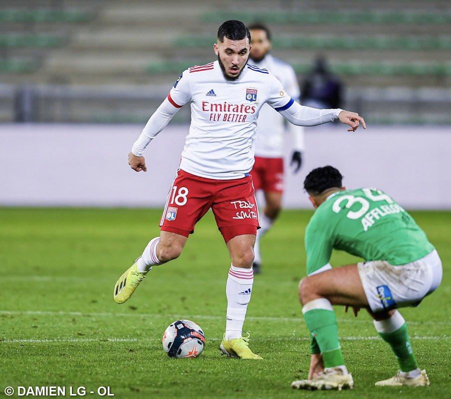 Replying to @rayan_cherki: Premier derby, première victoire 🦁