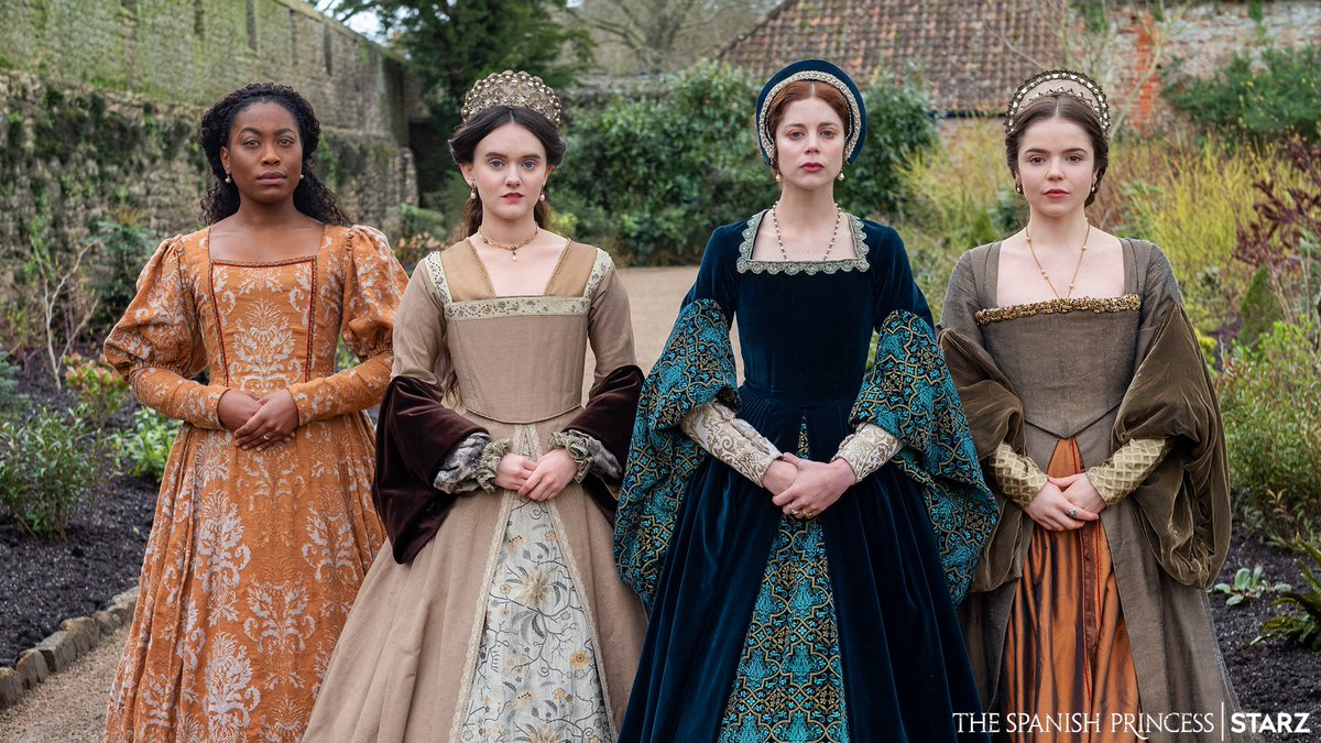 You said you were looking for period dramas, Your Majesty? Look no further. #STARZ